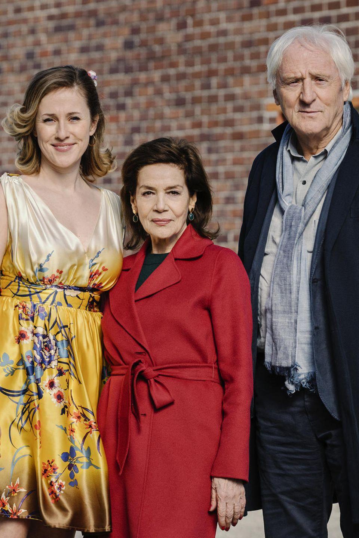 """Die Hauptdarsteller von """"Lang lebe die Königin"""" Marlene Morreis, Hannelore Elsner und Günther Maria Halmer"""