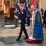 Prinz Harry, Der Dekan von Westminster