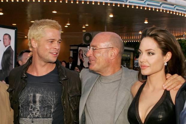 Brad Pitt, Angelina Jolie, Arnon Milchan