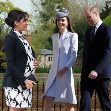 Herzogin Meghan, Herzogin Catherine, Prinz William