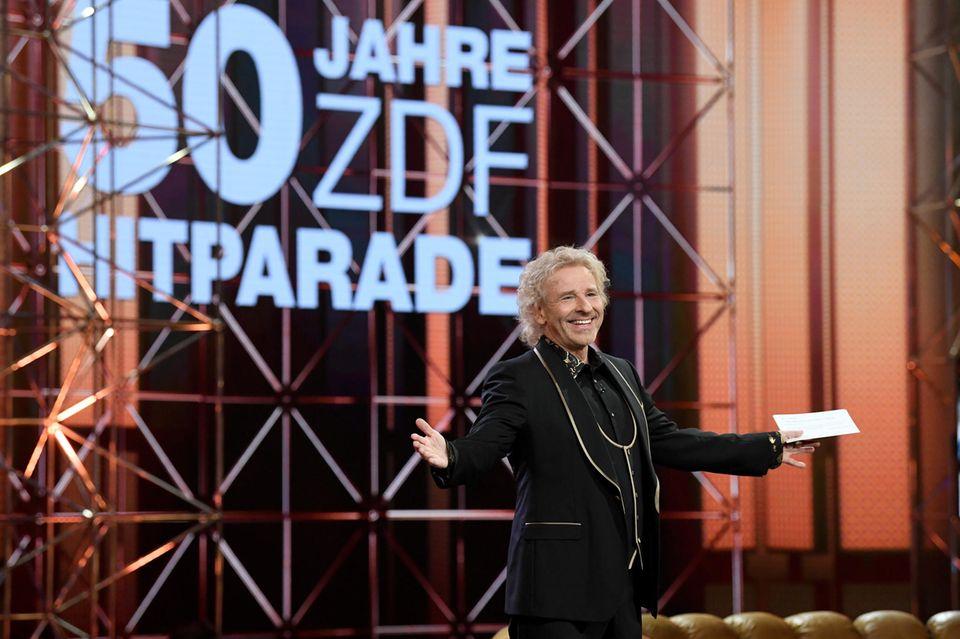 """Thomas Gottschalk moderiert am Samstag die Geburtstagsshow der """"ZDF-Hitparade""""."""
