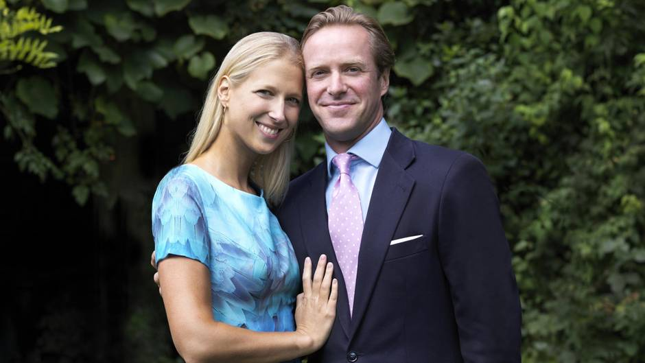Lady Gabriella Windsor und ihr Verlobter Thomas Kingston