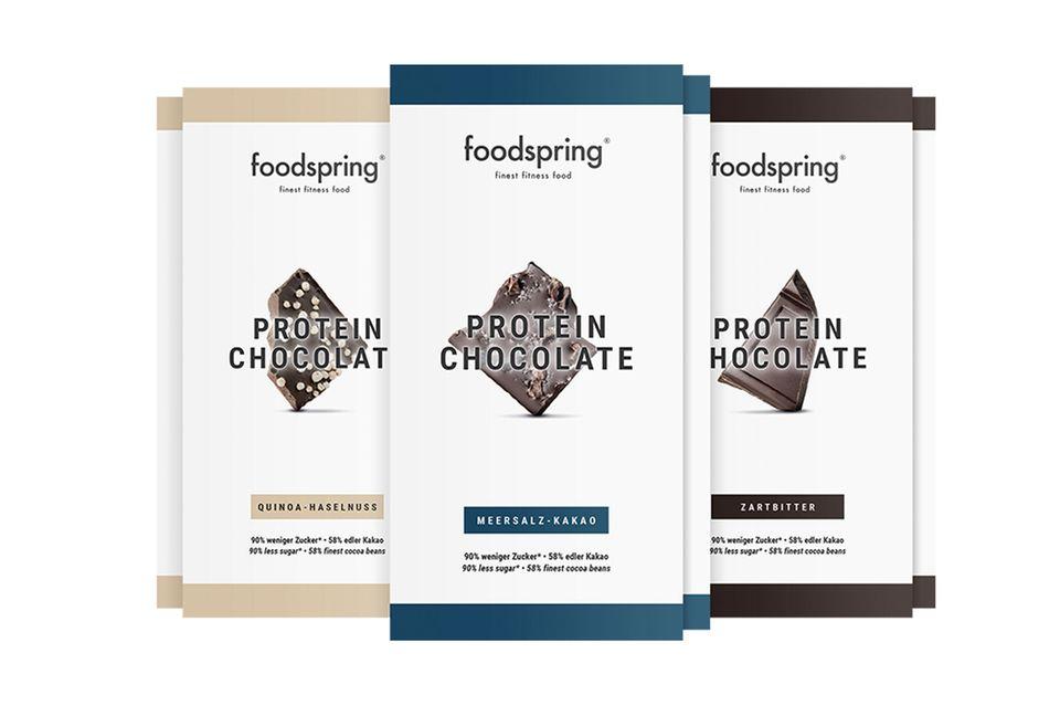 Protein Chocolate von Foodspring