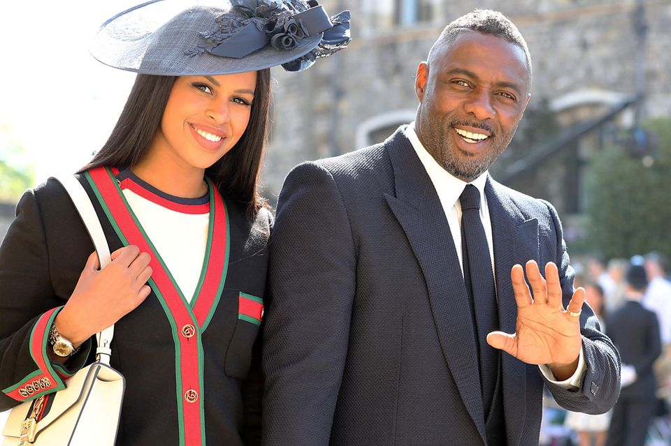 Sabrina Dhowre + Idris Elba