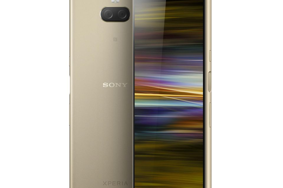 Sony Xperia 10 Plus in Gold