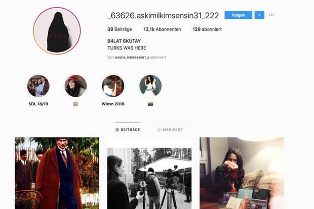 Der Instagram-Account von Helen Barke wurde gehackt