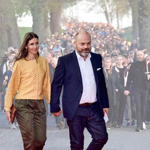 Anne Storm, Anders Holch Povlsen, Trauermarsch