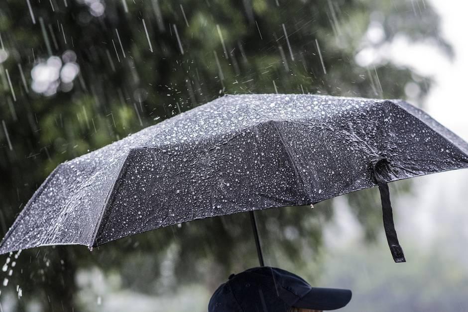 Ende April kommt mit viel Regen und Sturm