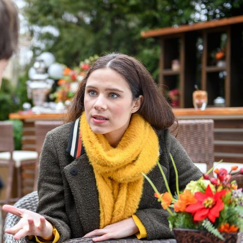 "Helen Barke spielt Denise Saalfeld in der ARD-Telenovela""Sturm der Liebe"""