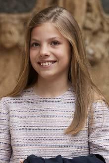 29. April 2019  Prinzessin Sofía feiert am 29. April 2019 ihren zwölften Geburtstag. Hier besucht sie die traditionelle Ostermesse in Palma de Mallorca eine Woche vor ihrem Ehrentag.