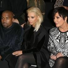 Kanye West, Kim Kardashian West, Kris Jenner