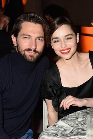 """Michiel Huisman und Emilia Clarke hatten eine ihrer Lieblings-Sexszenen bei """"GOT""""."""