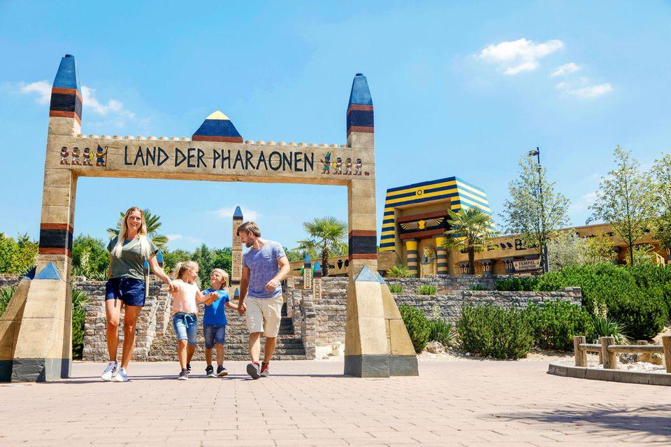 Das neue LAND DER PHARAONEN im LEGOLAND Deutschland