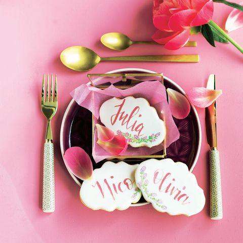 Leckere Hochzeitskekse