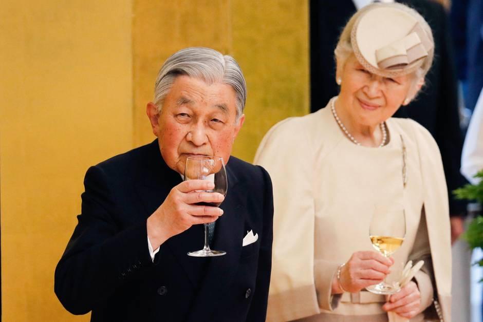 Letzte Amtshandlungen: Kaiser Akihito von Japan dankt am 30. April 2019 ab