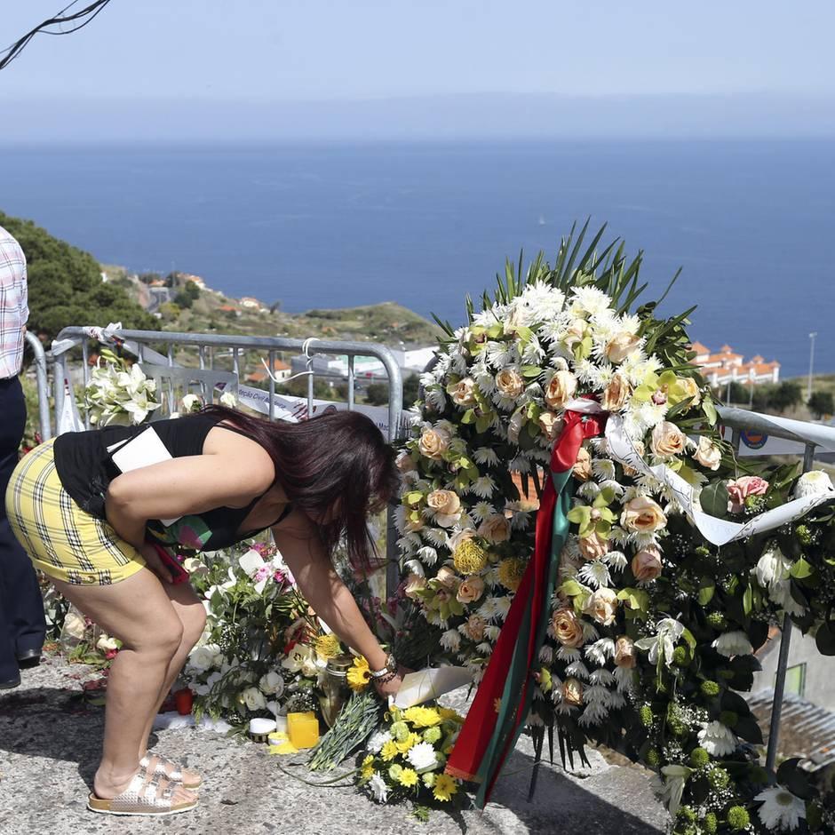 Nach Busunglück auf Madeira: Männer bangen tagelang um falsche Frau