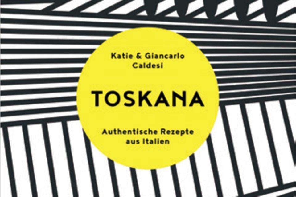 """Katie und Giancarlo Caldesi nehmen ihre Leser mit auf eine kulinarische Reise durch Mittelitalien. Neben Basiswissen und ihren persönlichen Küchengeheimnissen verraten sie authentische toskanische Rezepte für jede Tages- und Jahreszeit. (""""Toskana"""", Südwest Verlag, 272 S., 25 Euro)"""