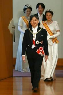 Mit Kaiser Naruhito fängt nun als 126. Kaiser von Japan die Reiwa-Ära an.