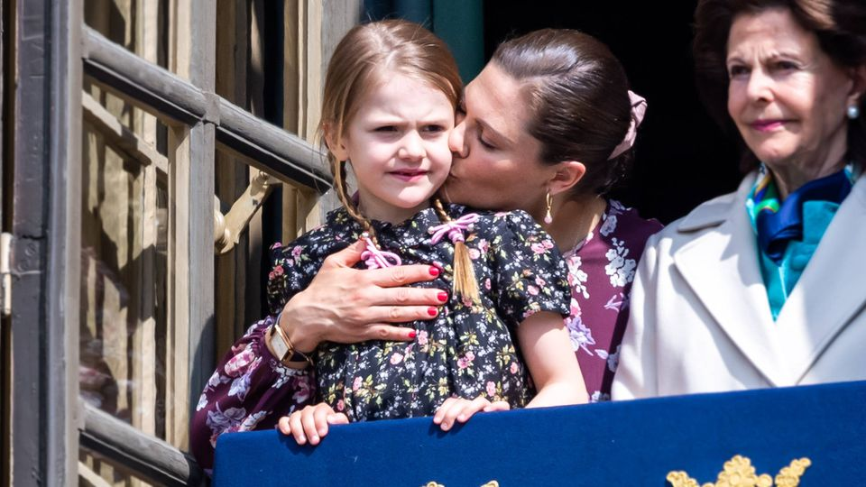 Prinzessin Estelle mit Mama Victoria