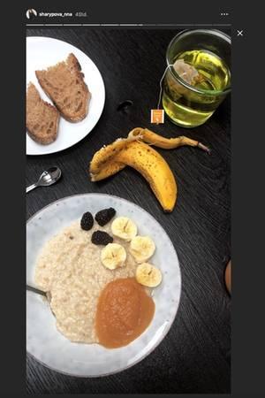 Anna Schürrles nahrhaftes Frühstück