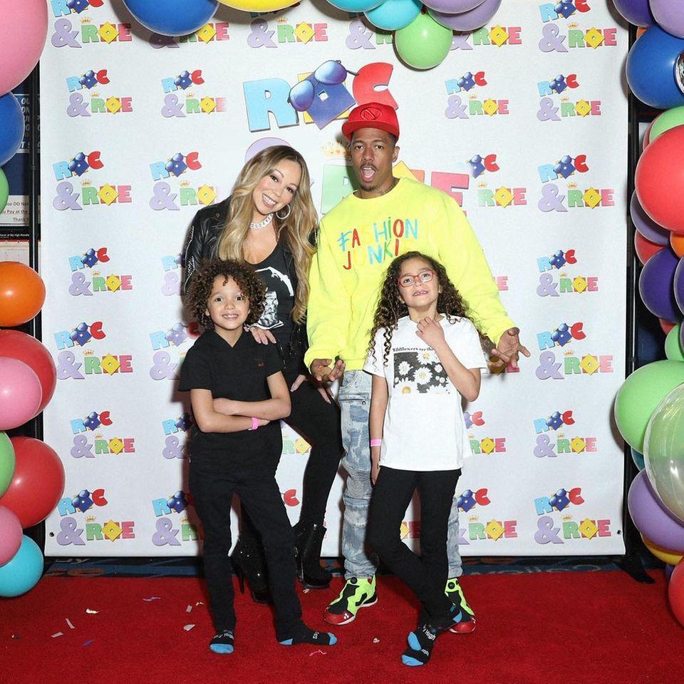 Die Zwillinge von Mariah Carey und Nick Cannon feiern heute ihren achten Geburtstag. Die stolzen Eltern verwöhnen Moroccan und Monroe an diesem Tag sichtlich ...