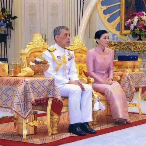 König Maha, Königin Suthida von Thailand
