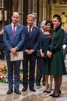 Zuvor teilten sich Prinz William, Prinz Harry, Herzogin Meghan und Herzogin Kate einen gemeinsame Intagram-Account.
