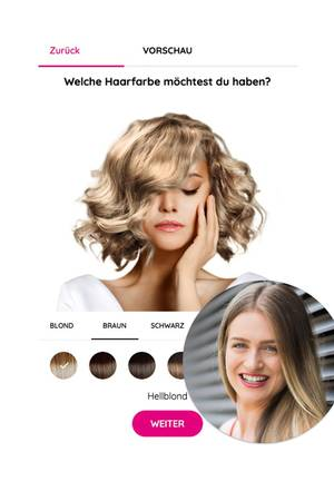 Neuer Look für Redakteurin Tabea? Sie testet die Choicify Farb-Beratung.