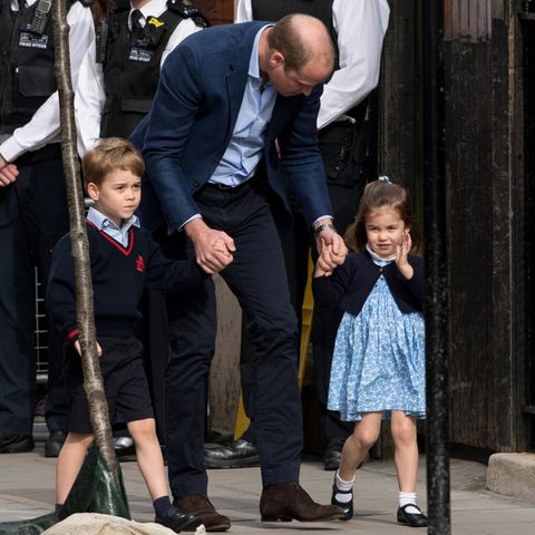 Prinz George, Prinz William und Prinzessin Charlotte