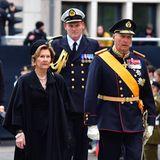 KöniginSonja undKönig Harald von Norwegen