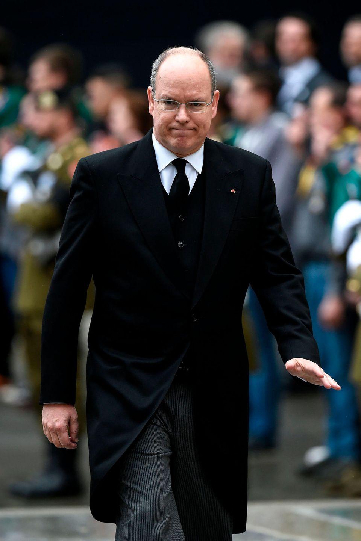 Fürst Albert II. von Monaco