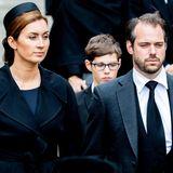 Prinzessin Claire und Prinz Félix von Luxemburg