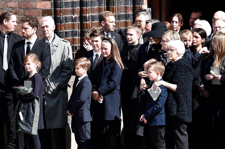 4. Mai 2019  Für die jungen Dänen-RoyalsPrinz Vincent, Prinz Christian,Prinzessin Isabella und Prinzessin Josephine muss der Abschiedbesonders schwergefallen sein. Die Familien sind gut befreundet.