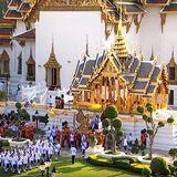 5. Mai 2019  Nach den Zeremonien im Palast findet eine königliche Prozession statt, an der über 1.300 Soldaten teilnehmen werden.