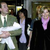 Die Kinder von Prinz Edward und Gräfin Sophie sind beide imFrimley Park Hospital zur Welt gekommen.