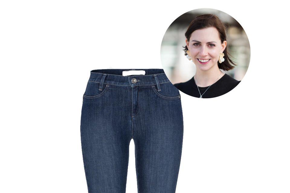 Für Redakteurin Kathrin sind Jeans DAS Musthave schlechthin