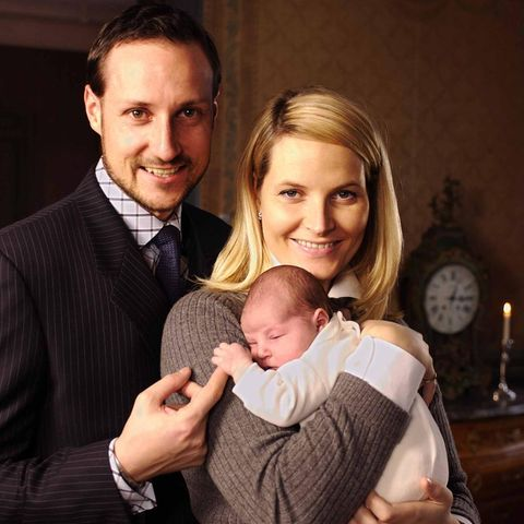 Prinz Haakon, Prinzessin Mette-Marit, Prinzessin Ingrid Alexandra