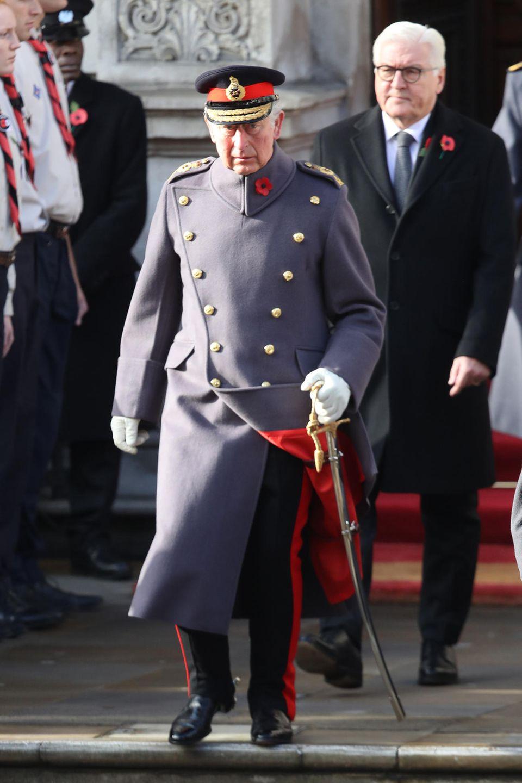Prinz Charles wird mit Ehrengast Frank-Walter Steinmeier den Geburtstag der Queen nachfeiern.