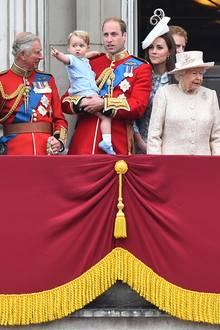 Prinz Charles hat für Enkel Georgeeinen ganzen Wald neu gepflanzt.