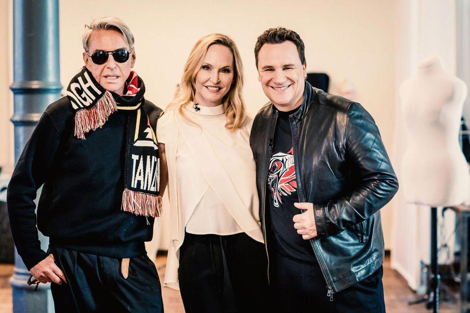 Wolfgang Joop, Anne Meyer-Minnemann und Guido Maria Kretschmer