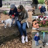 """5. Mai 2019  """"Zeit zu zweit. Sonntags ist MamiMattiTag"""", schreibt Anna-Maria Zimmermann zu dem süßen Schnappschuss, auf dem die Schlagersängerin mit ihren kleinen Sohn zu sehen ist. Mutter und Sohn haben einen Ausflug in die Natur gemacht, wo Klein-Matti die Bekanntschaft mit so manch einem Tier machen durfte."""