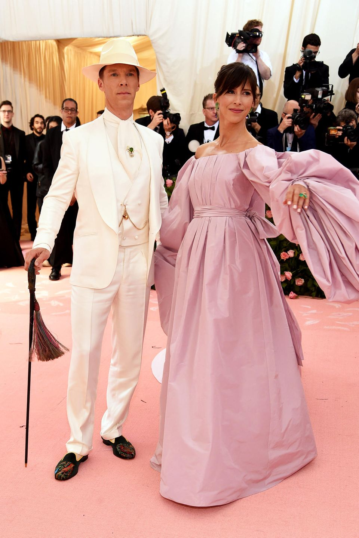 Unser Lieblingspaar des Abends: Benedict Cumberbatch und sein Frau Sophie Hunter