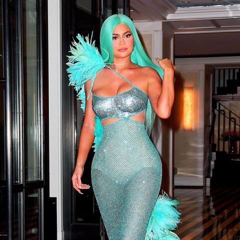 Kylie Jenner versprüht nach der Met Gala Meerjungfrauen-Vibes.