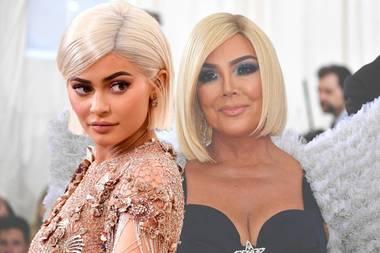 Kylie Jenner und Kris Jenner tragen Bob.