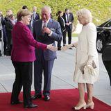 Kanzlerin Angela Merkel, Prinz Charles und Herzogin Camilla