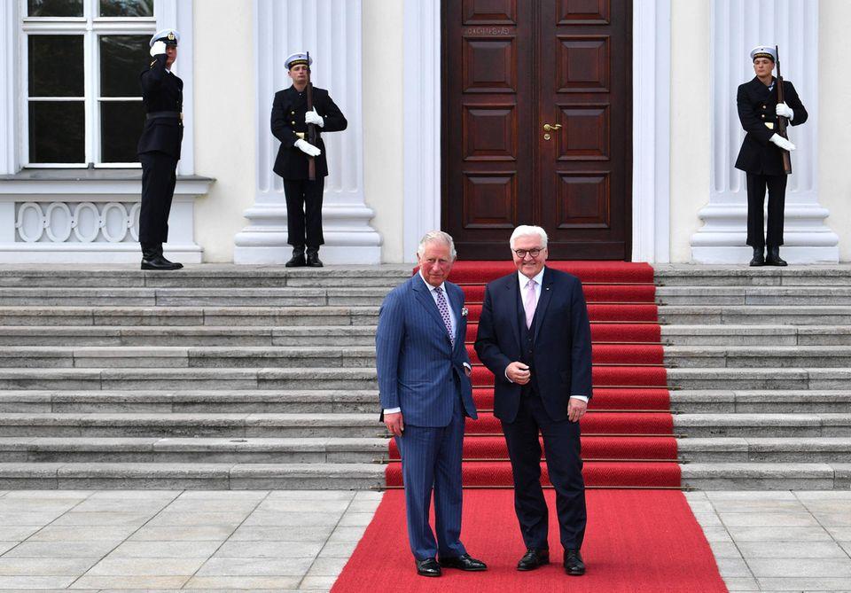 Prinz Charles, Bundespräsident Frank-Walter Steinmeier