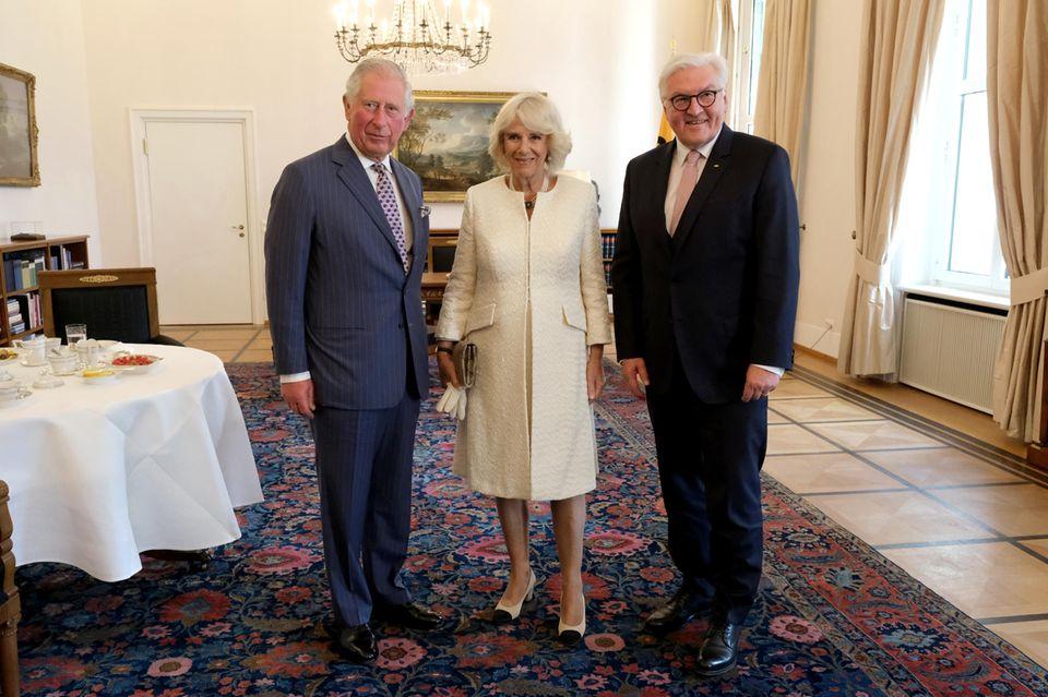 Prinz Charles, Herzogin Camilla, Frank-Walter Steinmeier