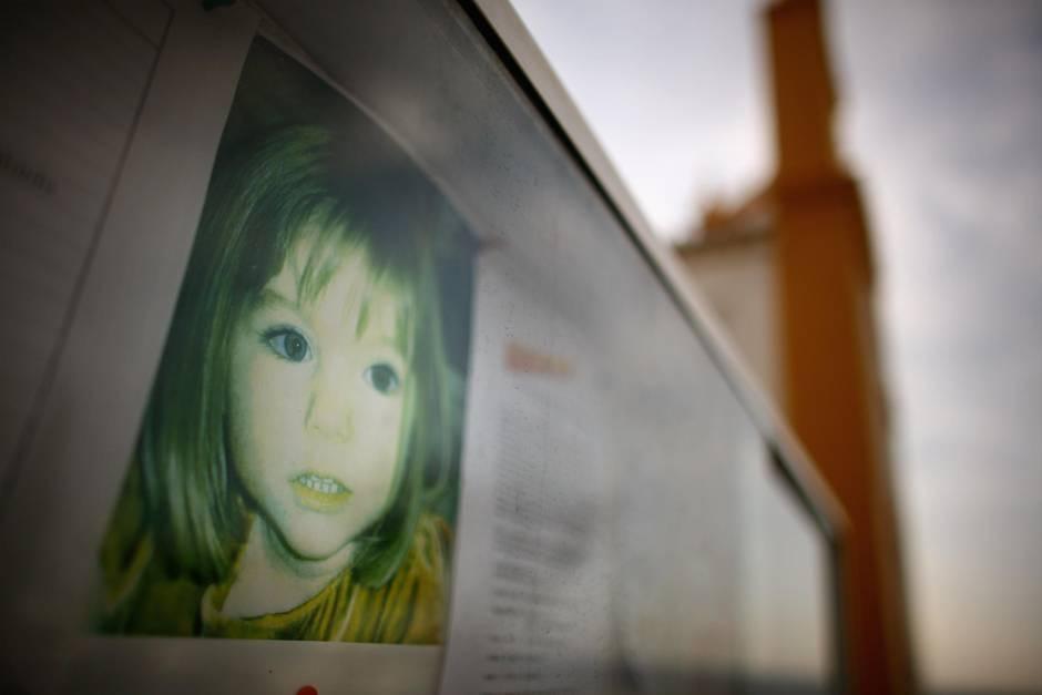 Maddie McCann verschwand im Alter von drei Jahren