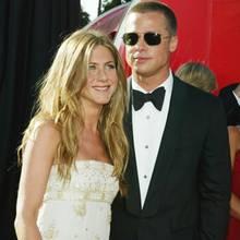 Jennifer Aniston + Brad Pitt 2004
