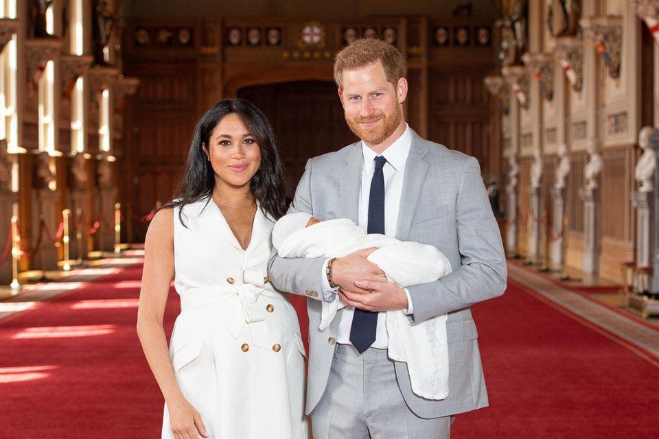 Herzogin Meghan, Prinz Harry, Baby Sussex